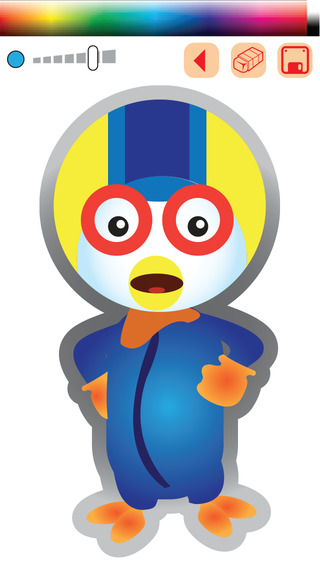Coloring Game for Pororo the Little Penguin