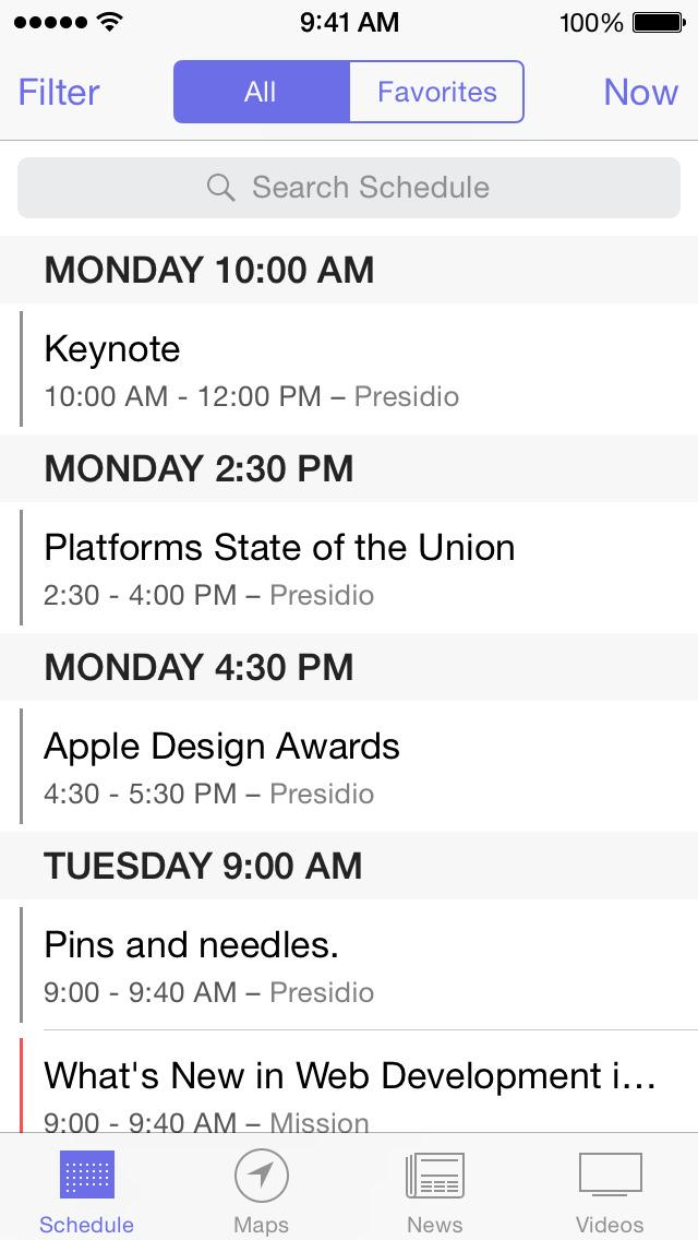 【苹果官方出品】WWDC