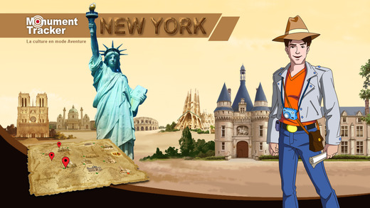 Brad in New York – Fun challenging travel Guide for New York' History for kids adults