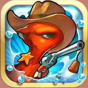 回合策略 狂野西部章鱼仔:Squids Wild West [iOS]
