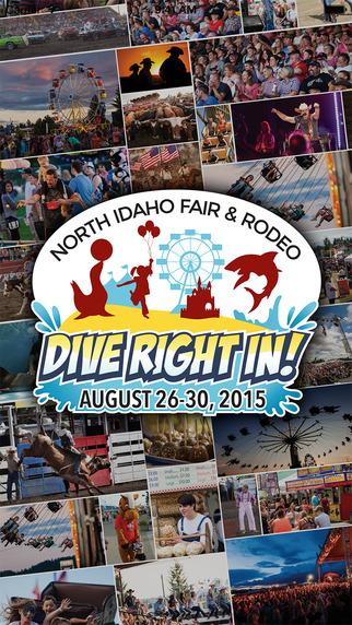 North Idaho Fair Rodeo 2015