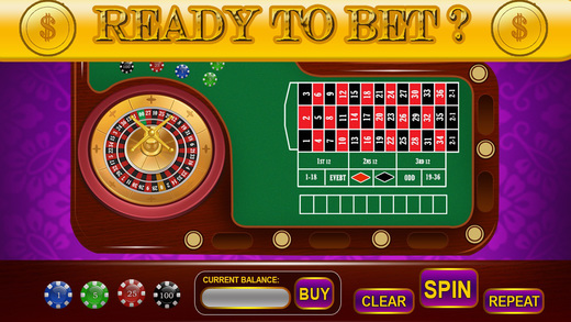 Amore Geisha Vegas Style Free Blade Roulette - Bet Spin Win