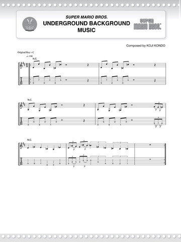 Super Mario™ Series for Guitar by Koji Kondo on iBooks