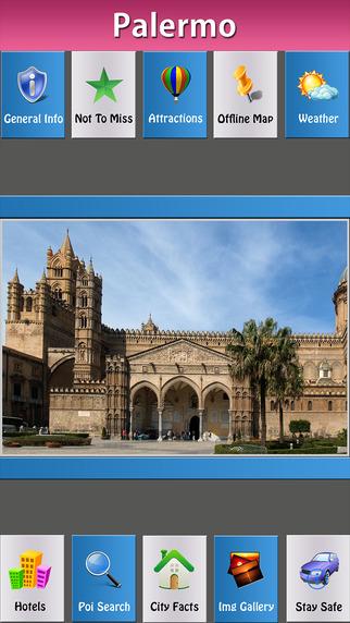 Palermo City Travel Explorer