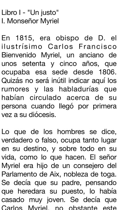 Los Miserables [Completo] iPhone Screenshot 4
