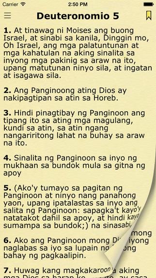 Ang Biblia Tagalog Bible