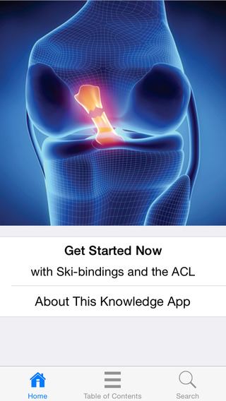 Ski-bindings and the ACL
