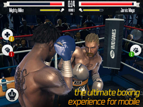 Screenshots of Real Boxing for iPad