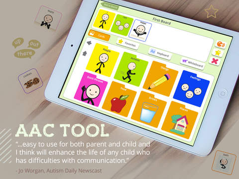 Tom Taps Speak - AAC for Kids