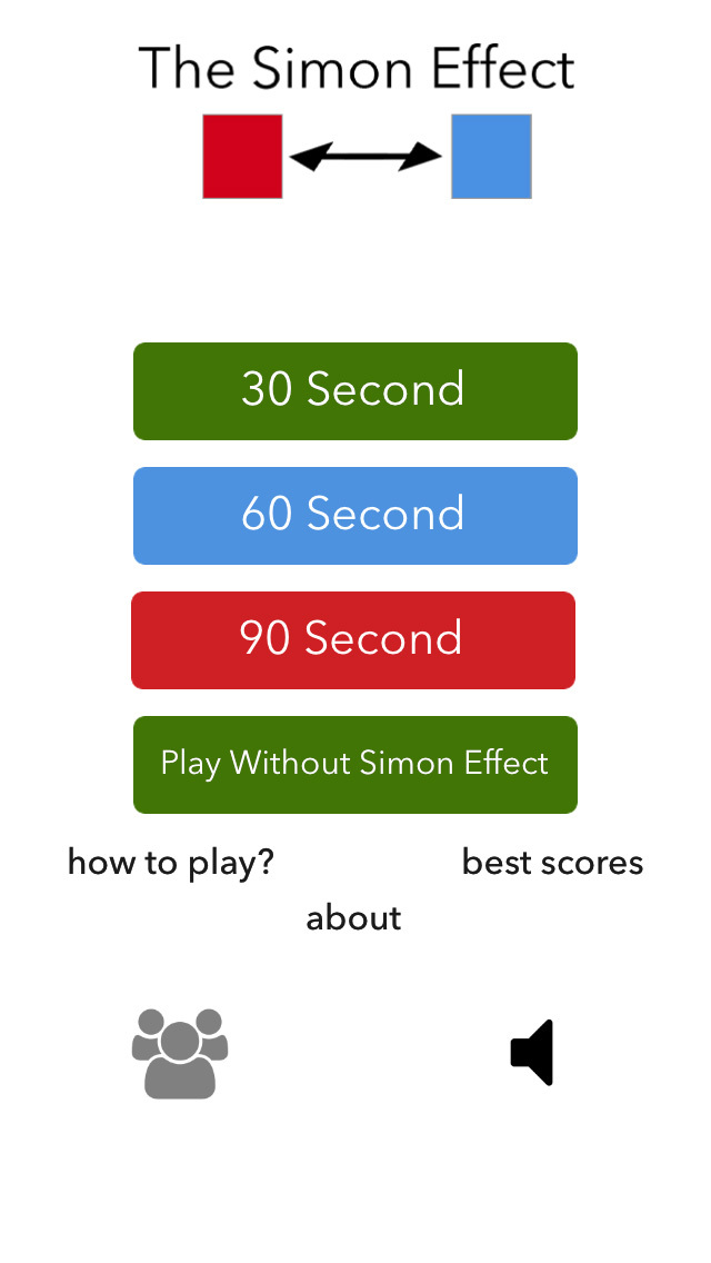 simon effect This experiment aims to study the simon effect which refers to the finding that people are faster and more accurate when responding to stimuli that occur in the same relative location as the response.