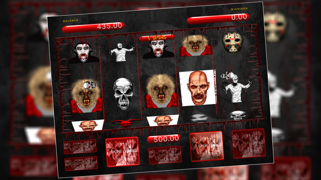 Slots Machine - Horror and Scary Monster Special Edition - Free Edition