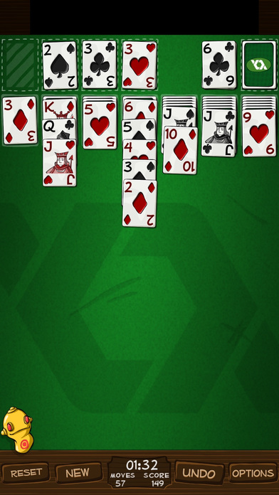 Simply Solitaire HD iPhone Screenshot 1