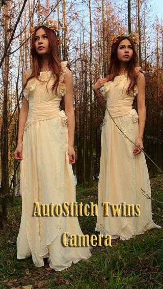AutoStitch Twins Photo Maker iPhone Screenshot 1