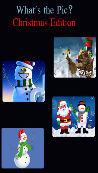 What's the Pic Christmas Edition - Super Fun Super Addictive Word Puzzle Game