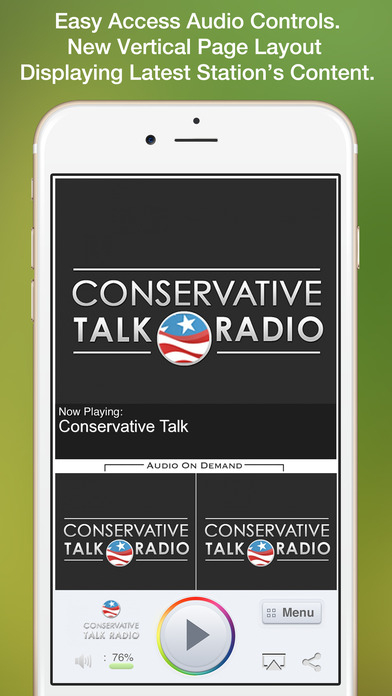 Conservative Talk iPhone Screenshot 1