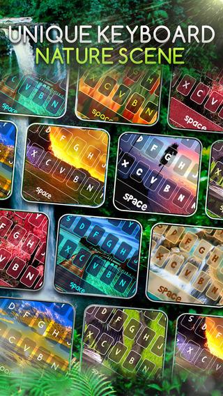 KeyCCM – Nature Scenery Custom Color Wallpaper Keyboard Themes
