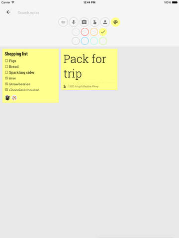 Google Keep - Your thoughts, wherever you are Screenshots