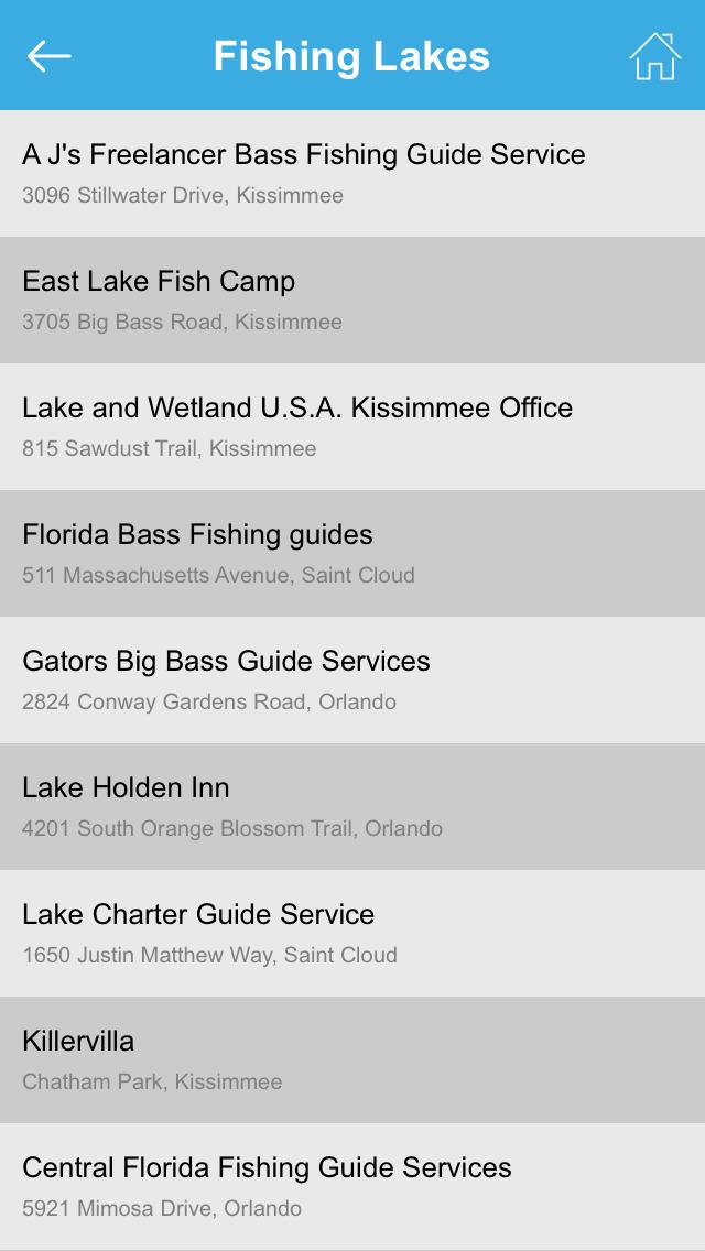 App shopper florida fishing lakes navigation for Florida fishing app