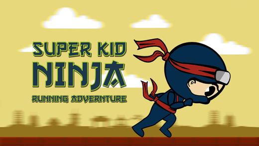 Super Kid Ninja Running Adventure Pro - Awesome street Ninja race