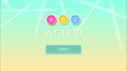 ABC Writing in Flat Design screenshot 1