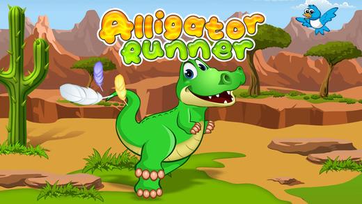 Alligator Runner Free - Fun Endless Running Game