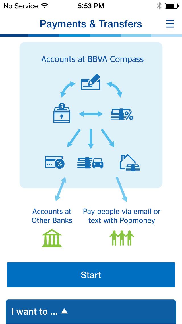 BBVA Compass Mobile Banking screenshot 4