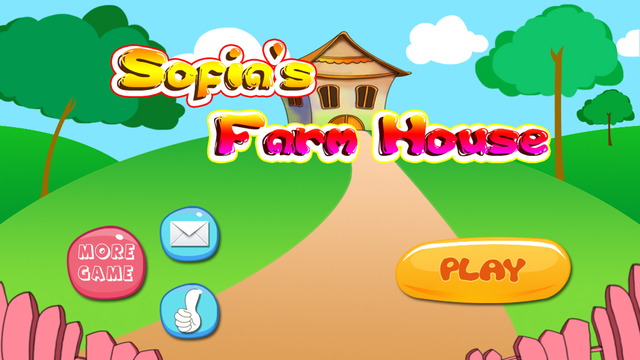Anna's animals farm house - free learning toddlers games