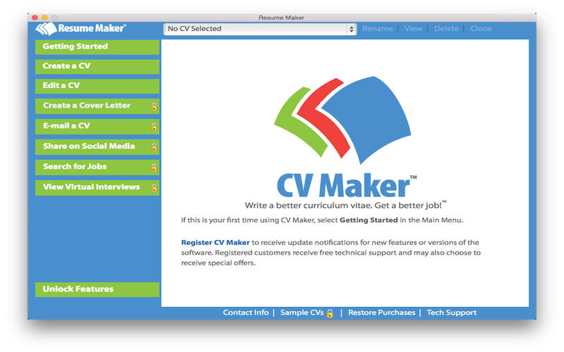 CV Maker Free Screenshot - 1