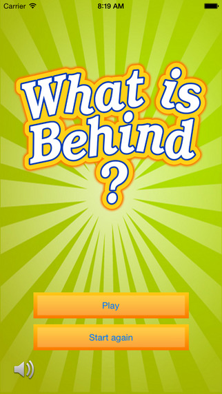 What is behind