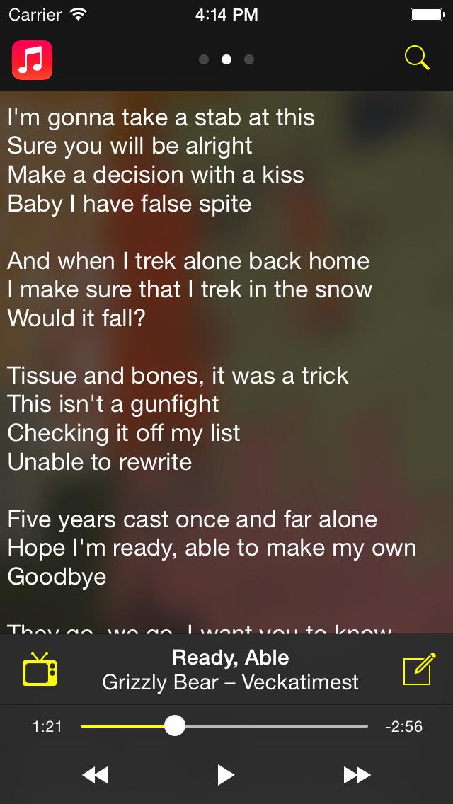 Lyric bones lyrics : App Shopper: Camena - Song Lyrics (Music)