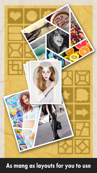 Frame Life HD - Picture Collage Editor: crop and stitch your photos on pinterest