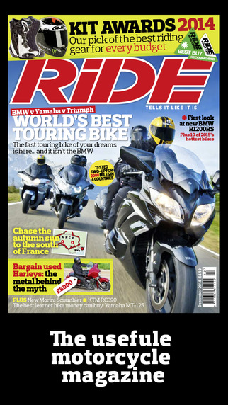 RiDE Magazine- universal edition
