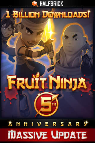 Screenshot 1 Fruit Ninja