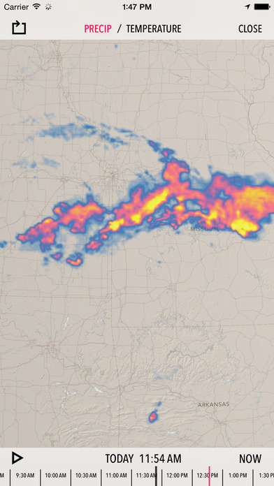 Dark Sky - Hyperlocal Weather, Radar, and Storm Alerts