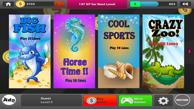 Fish Slots - Big Win Casino Game