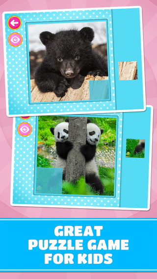 Adorable Little Bears Puzzles - Free