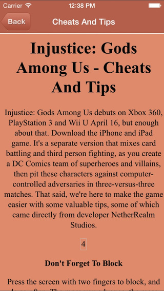 Guide For Injustice: Gods Among Us - All Level Video Walkthrough Guide
