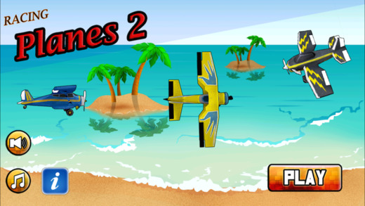 Racing Planes 2 - Extreme Beach Flying