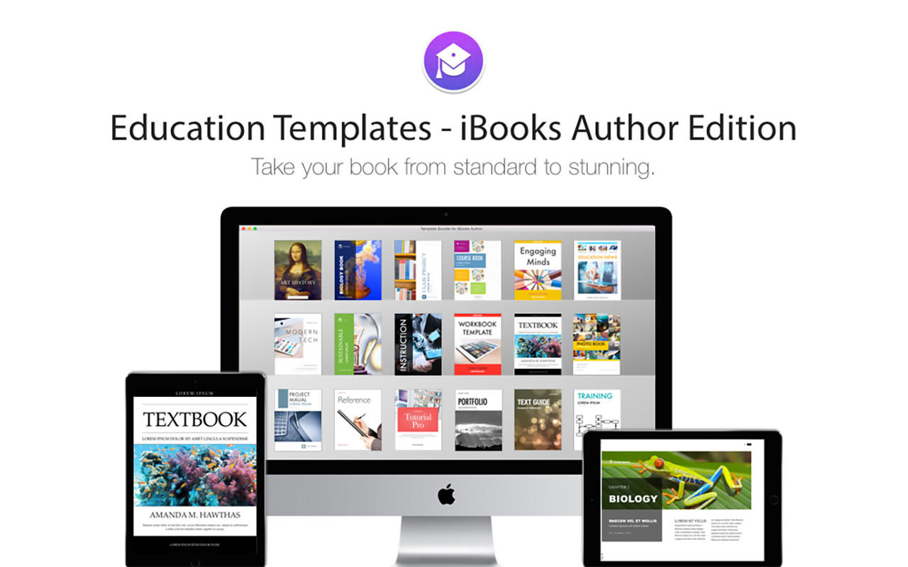 Download Templates for iBooks Author 3.0 for free