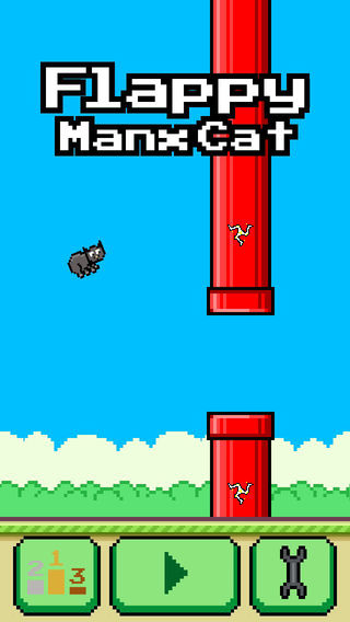 Flappy Manx Cat