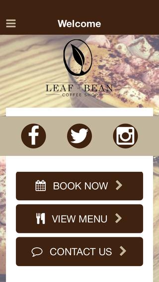 Leaf or Bean