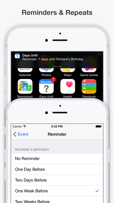 Days Until iPhone Screenshot 4