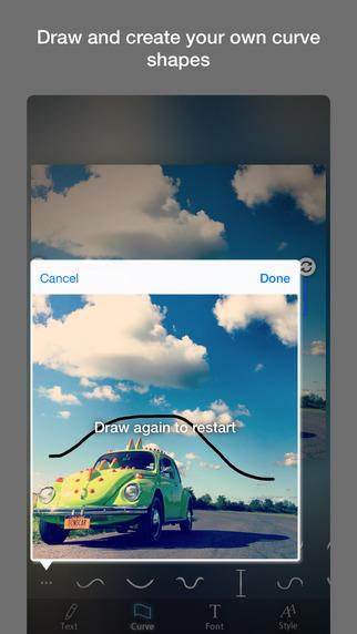 Curved Text Screenshots