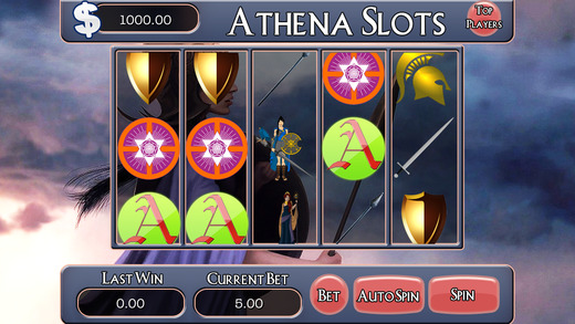AAA Athena Free Slots Machine - Journey to Heaven Jackpot Casino Game