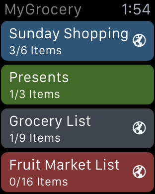 MyGrocery - Shopping, Notes and To-Do Lists Screenshots