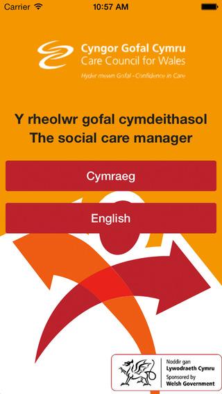 Social care manager Y rheolwr gofal cymdeithasol