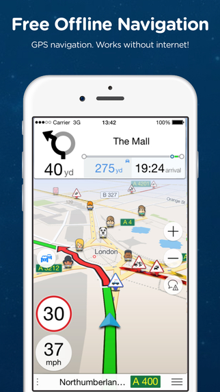 Navmii GPS Finland: Navigation Maps and Traffic Navfree GPS