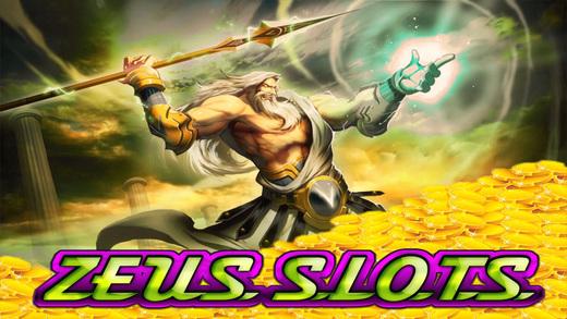 Zeus God and Master of Fun Bonus Fortune Slots