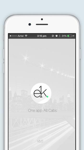 Ek - One app. All Cabs.