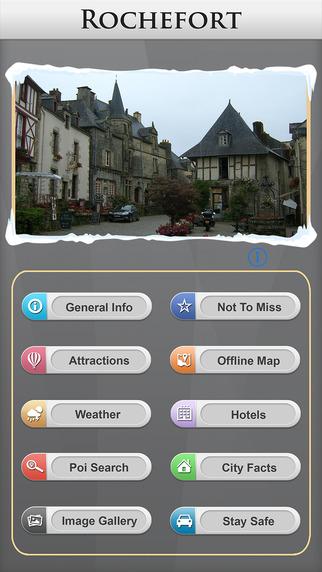 Rochefort Offline Map Travel Guide